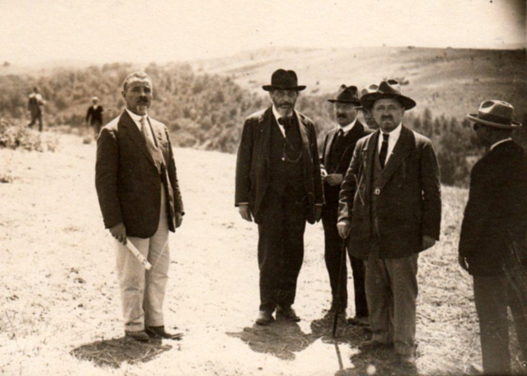 Carlo Traves e Filippo Turati a Riano Macchia della Quartarella